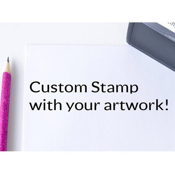 Custom Logo Business Stamp