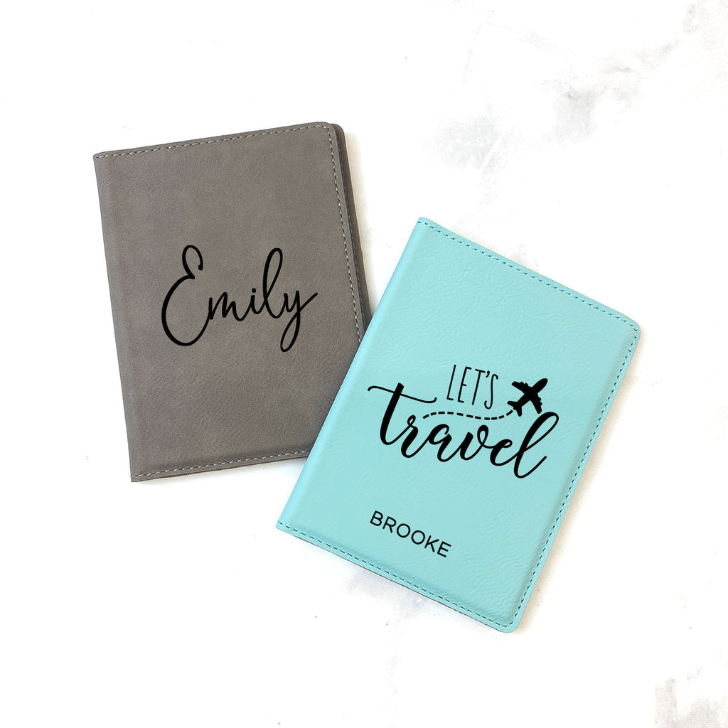 Personalized Passport Holder, Passport Wallet, Travel Gift, Passport Cover, Personalized Gift, Couples Gift, Wedding Gift