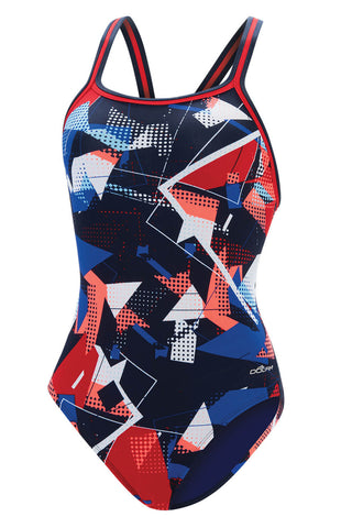 Dolfin Reliance Renegade DBX Back (Red/White/Blue)