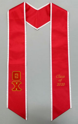 Two Color Grad Stole