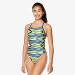 Speedo Wave Wall Crossback (2 Year Suit)