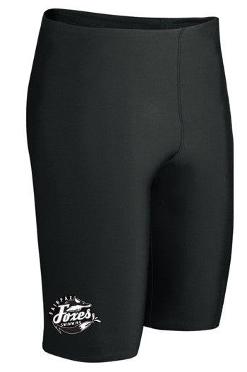 Speedo Endurance+ Solid Jammer with Team Logo (Black)