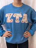 Crewneck Fleece Letters