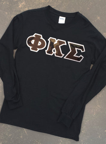 Long Sleeve Letters