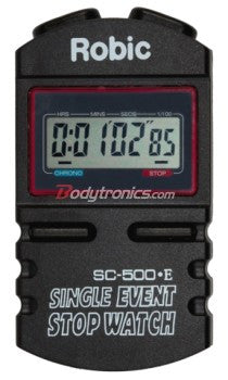 Silent/Audible Single Event Stopwatch