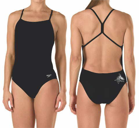 Speedo THE ONE with Team Logo (Black)