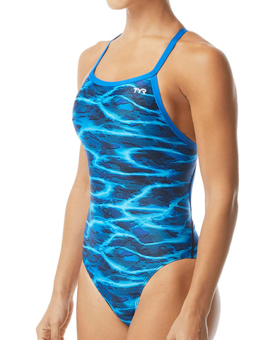 TYR Lambent Diamondfit Back (Blue)