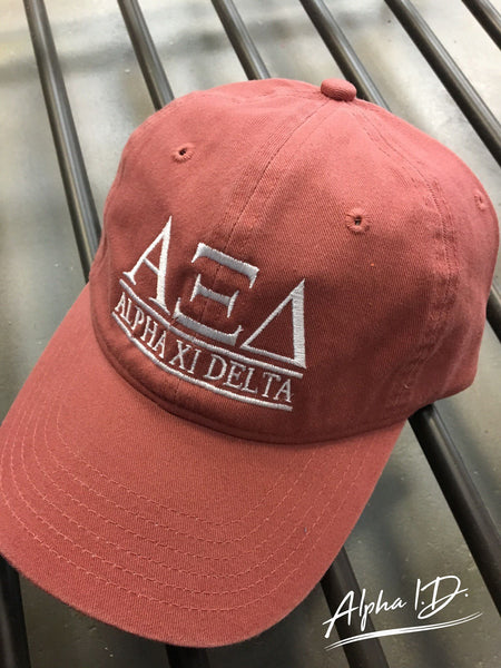 Canvas Bar Design Cap