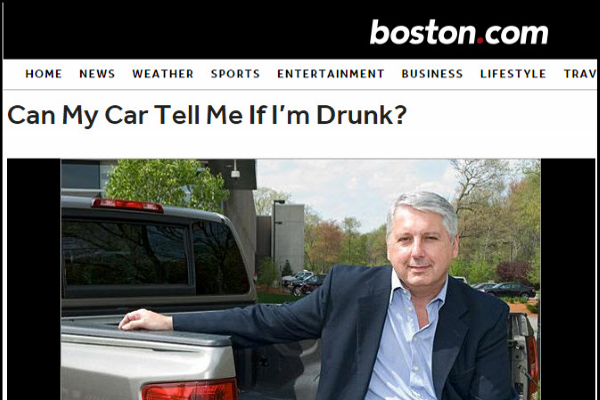 Can My Car Tell Me If I'm Drunk?