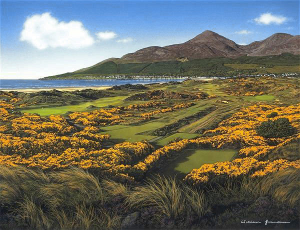 Royal county down panorama with 4th hole grandison for Royal county down