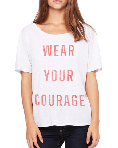 "Kitt Allan - Women's ""Wear Your..."" Slogan Tee -"