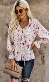 Floral Smocked Blouse
