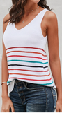Multicolor Striped Tank