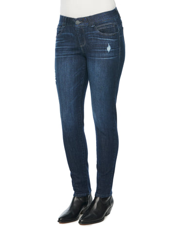 Indigo Distressed Jegging