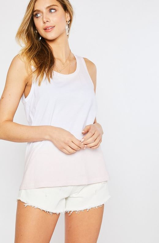 Pink Ombre Tank