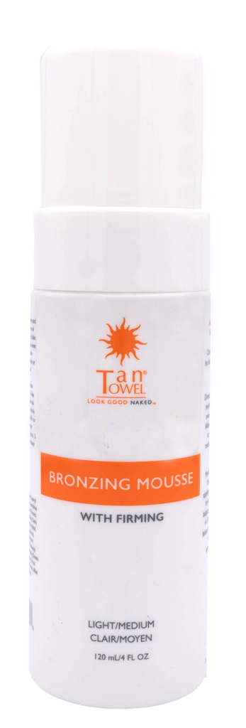 Bronzing and Firming Self-Tan Mousse - Light/Medium