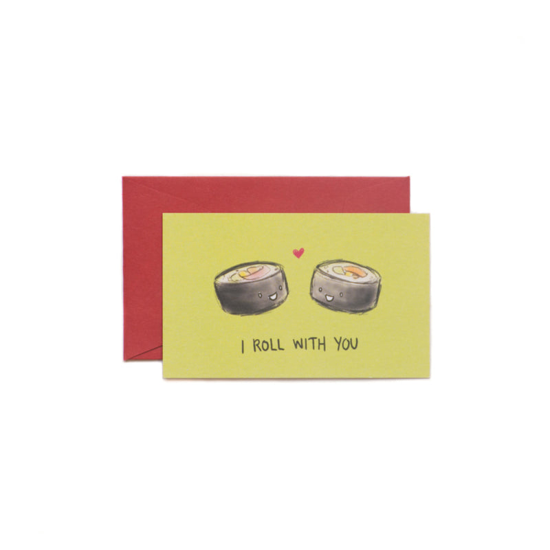 I Roll With You Mini-Valentine Card - George Brown College