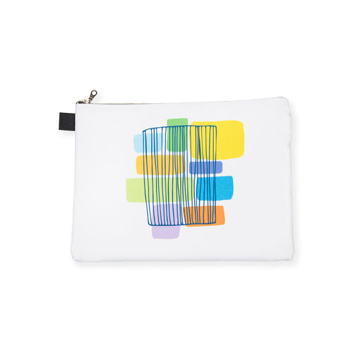 GBC Abstract Zip Pouch - George Brown College