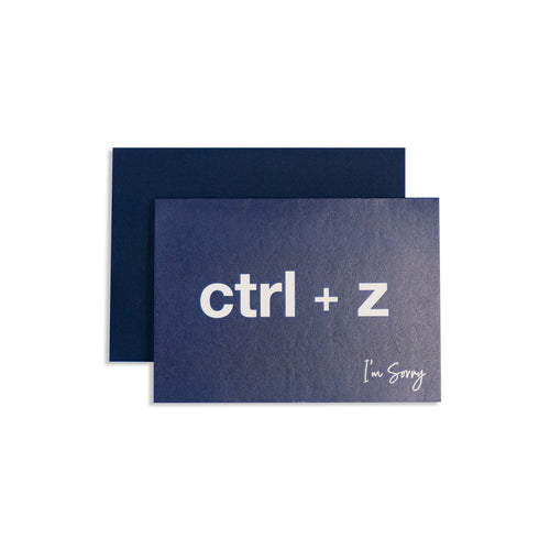 Ctrl + Z Card - George Brown College