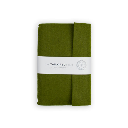 Tailored Felt Folio (Green) - George Brown College