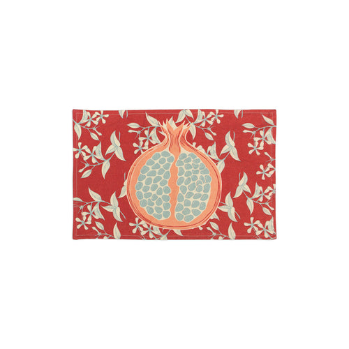 "Linen ""Pomegranate"" Placemat - George Brown College"