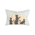 Jazz Cats Pillow Cover - George Brown College
