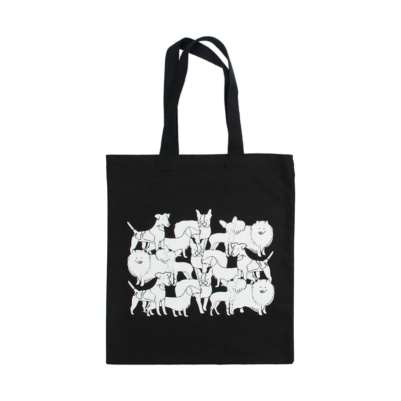 Mixed Dog Party Tote Bag - George Brown College