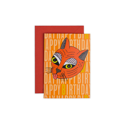 Whacky Cat Card - George Brown College