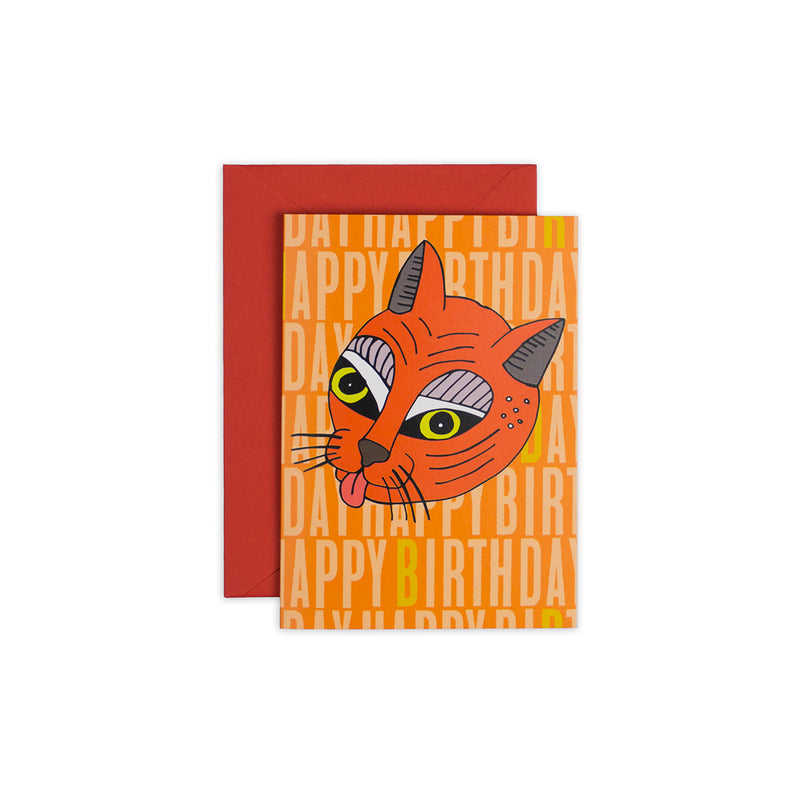 Whacky Cat Greeting Card - George Brown College