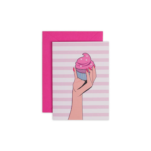 Cupcake Greeting Card - George Brown College