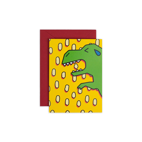"""Dinosaur"" Greeting Card - George Brown College"