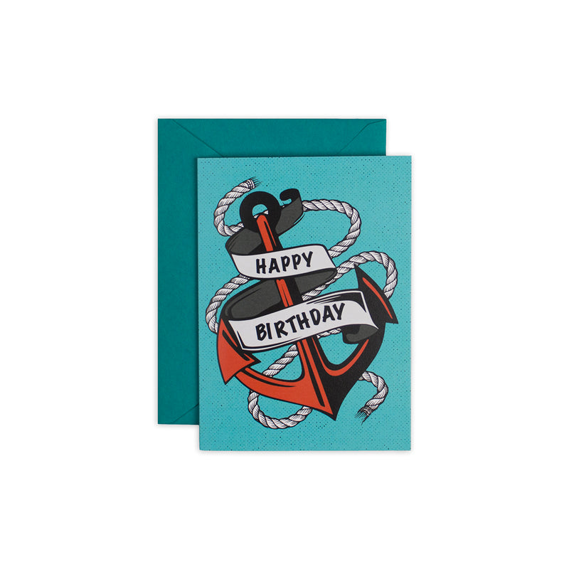 Anchors Aweigh Greeting Card - George Brown College