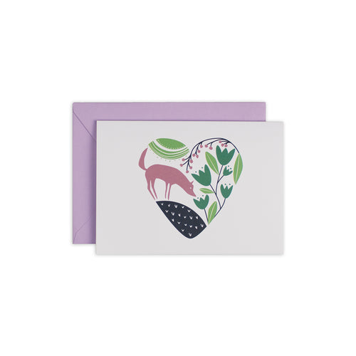 Forest Heart Greeting Card - George Brown College