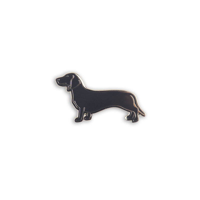 Hot Doggin' Enamel Pin - George Brown College