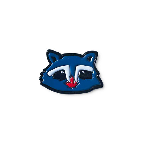 Toronto Flag Raccoon Enamel Pin