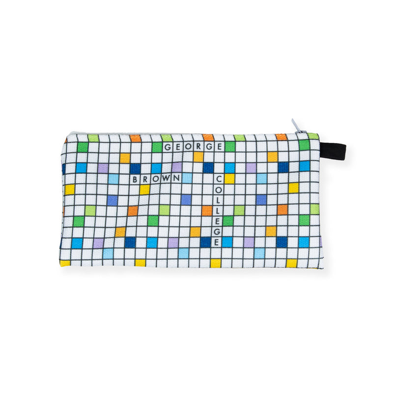 GBC Crossword Pencil Case - George Brown College