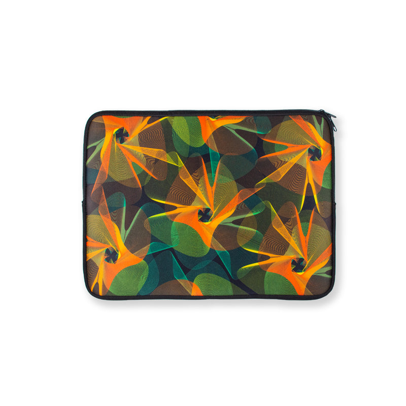 Overlapping Spiral 15 Inch Laptop Case - George Brown College