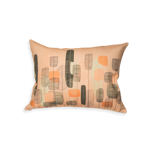 Abstract Flower Pillow Cover - George Brown College