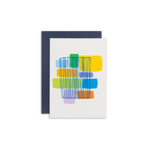 GBC Abstract Greeting Card - George Brown College