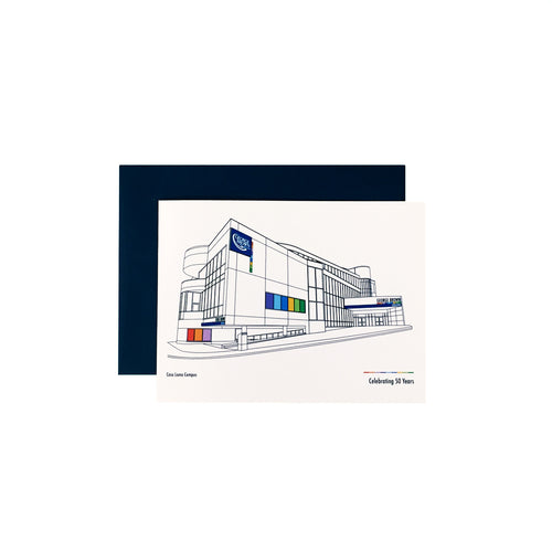 GBC 50th Casa Loma Greeting Card - George Brown College