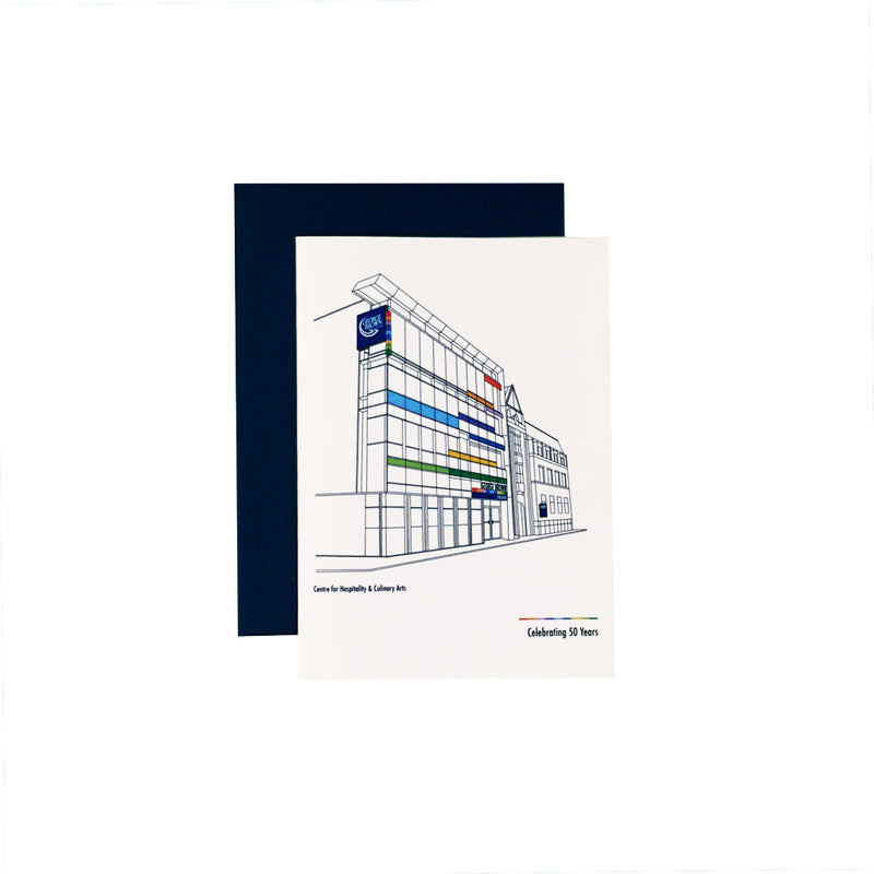 "GBC 50th ""Hospitality & Culinary Arts"" Notecard - George Brown College"