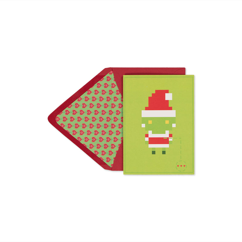 Grinch Holiday Card - George Brown College