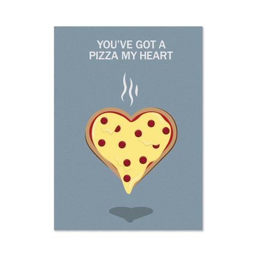 Pizza My Heart Valentine