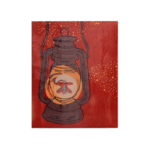 Firefly Lantern Wood Poster - George Brown College