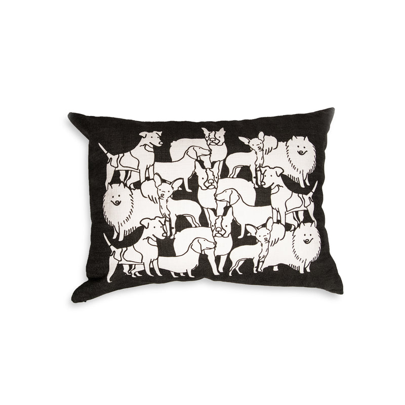 Mixed Dog Party Pillow - George Brown College