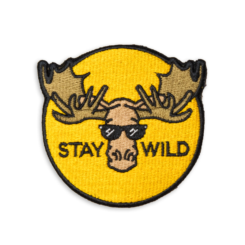 Stay Wild Patch - George Brown College