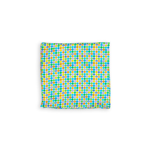 GBC 50th Polka Dot Pocket Square - George Brown College