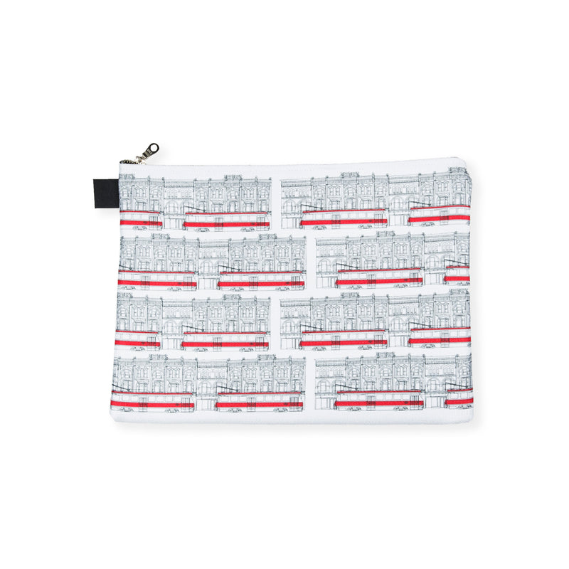 Toronto Streetcars Zip Pouch - George Brown College