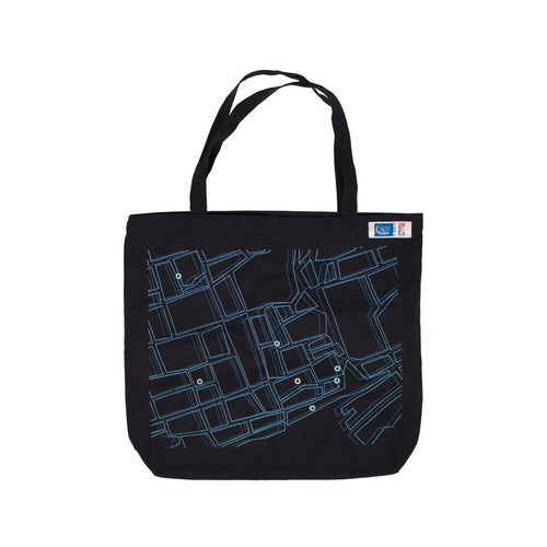 "GBC 50th ""Campus Map"" Tote Bag - George Brown College"