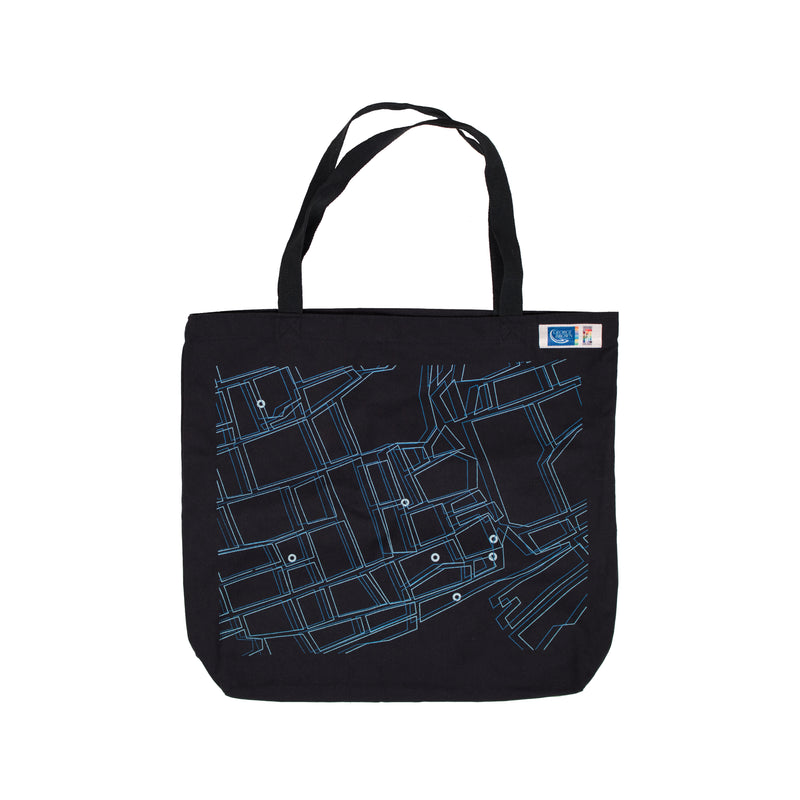 GBC 50th Campus Map Tote Bag - George Brown College
